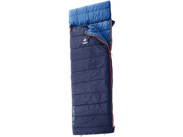 damen wie man serch stabile Qualität Deuter Orbit SQ -5° Sleeping Bag regular navy-steel